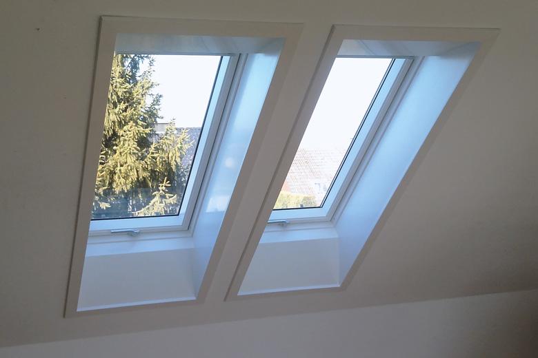 Erstklassige Arbeit an Dachflächenfenster von Philipp Hölker aus Altenberge